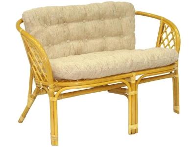 Диван Багама мед со светлой подушкой