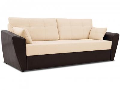 Диван Борнео Concept 02 бежевый, Neo 12 коричневый