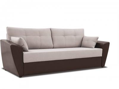 Диван Борнео Concept 06 серый, Neo 12 коричневый