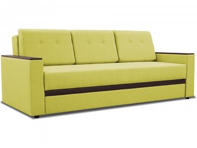 Диван Манхэттен Romeo 07 зелёный, Neo 12 коричневый