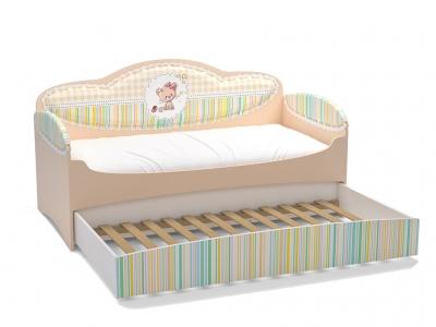 Диван-кровать Mia Бежевый с дополнительным спальным местом