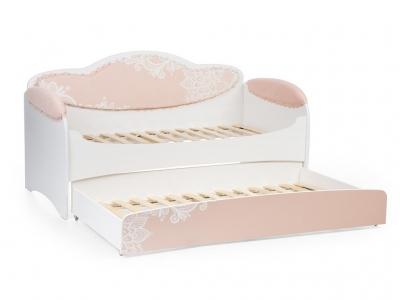 Диван-кровать Mia Персик с дополнительным спальным местом