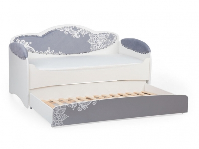 Диван-кровать Mia Шиншила с дополнительным спальным местом