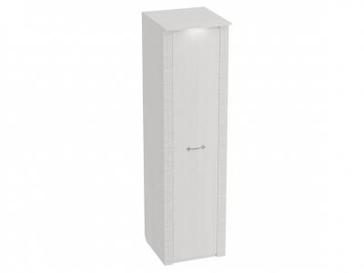 Шкаф 1-дверный Элана 585х410х2085 Бодега белая