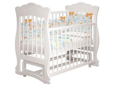 Кровать детская Елена - 2 с маятником