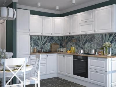 Кухня Ева Белый Софт