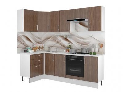 Кухонный гарнитур угловой Европа 1200х2400 Винтаж
