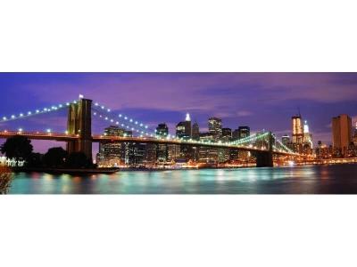 Кухонный фартук ХДФ Бруклинский мост