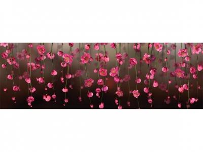 Кухонный фартук ХДФ Цветочный ливень