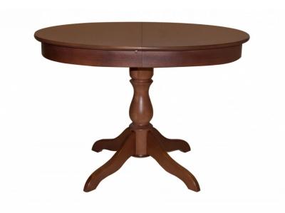 Стол овальный из дерева Фламинго 6 американский орех