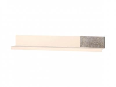 Полка навесная лев-прав 66.27 Фреска 1900х270х280
