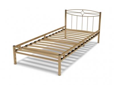 Кровать 90 Юнга-1 металлическая Крем
