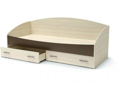 Кровать Максимка с ящиками Дуб млечный - Венге