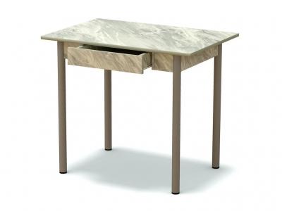 Стол обеденный с ящиком Статуарио