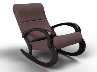 Кресло-качалка Гарда кофе с молоком