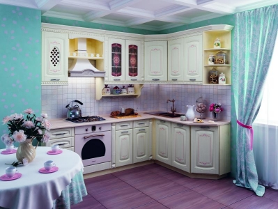 Кухня Глория 3 угловая комплектация