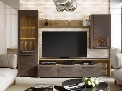 Гостиная Николь ГН-296.001 Бунратти, коричневый