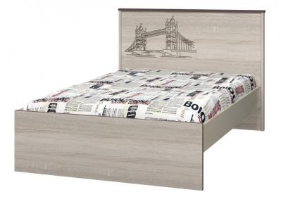 Кровать 1200 с настилом Хэппи ИД 01-254