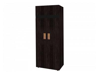 Шкаф для одежды 1 Гипер 797х579х2113 с фасадом в цвете Венге