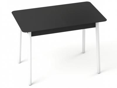 Стол с матовым стеклом Хайп Черный