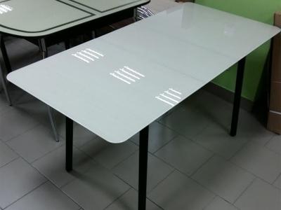 Стол стеклянный Хайп триплекс раздвижной