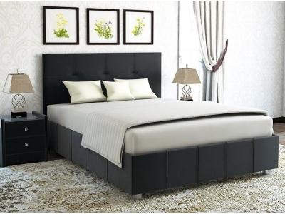 Кровать Liliana черная