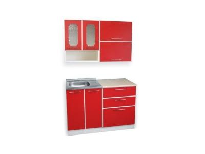 Кухонный гарнитур Ирбея 1.2 красный