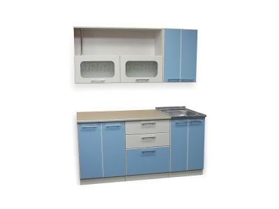 Кухонный гарнитур Ирбея 1.7 голубой