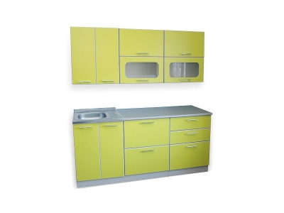 Кухонный гарнитур Ирбея 1.8 зеленый