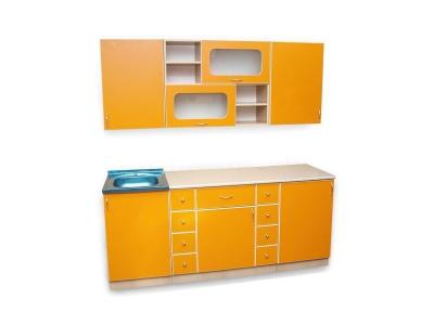 Кухонный гарнитур Ирбея 4.9 оранжевый