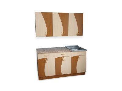Кухонный гарнитур Ирбея 5.5 древесный