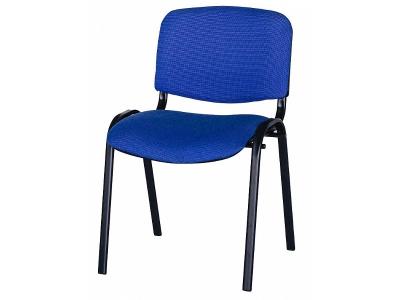 Офисный стул ИЗО ткань синяя