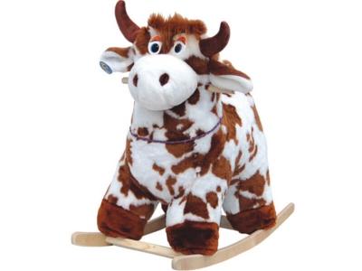 Качалка мягкая Корова-пятнистая 286-2008