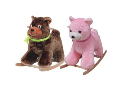 Качалка мягкая Медведь 282-2008 в ассортименте