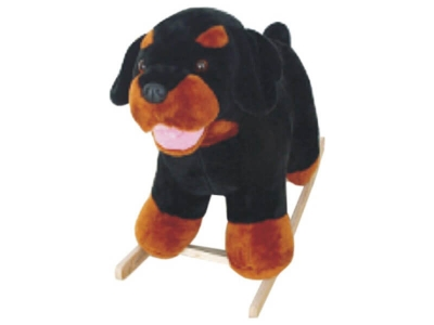 Качалка мягкая Собака-Ротвейлер 287-2009