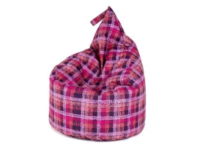 Кресло-мешок Капля кат. 5 dp quadro violet