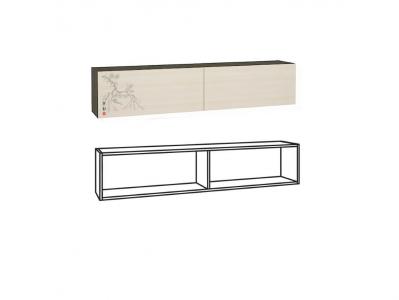 Шкаф навесной арт2 Киото 902 1538х282х320
