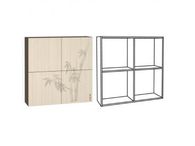 Шкаф навесной арт2 Киото 904 К 960х282х960