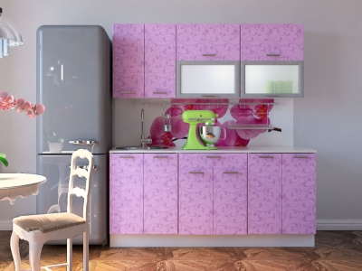 Кухня Комфорт Ирис цветы