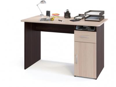 Компьютерный стол Сокол СПМ-03.1 Венге/Беленый дуб