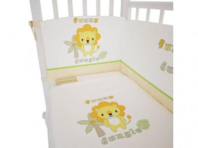 Комплект белья в кроватку Fairy Джунгли 120х60