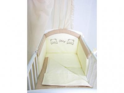Комплект в кроватку Fairy 4 предмета хлопок