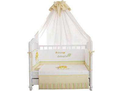 Комплект в кроватку Fairy Джунгли, 7 предметов