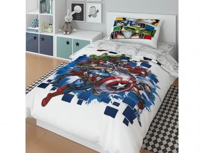 Комплект постельного белья Marvel 1,5СП Avengers (арт. 7247314)