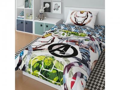 Комплект постельного белья Marvel 1,5СП Аvengers graphic (арт. 7247444)