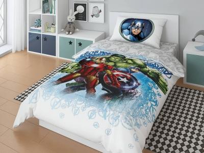 Комплект постельного белья Marvel 1,5СП Halk iron m ka (арт. 7247420)