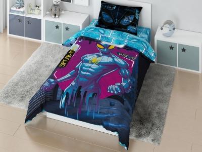 Комплект постельного белья Marvel 1,5СП Spidermen matrix (арт. 7282803)
