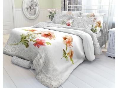 Комплект постельного белья Verossa Перкаль Constante Евро Romance