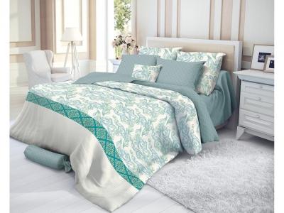 Комплект постельного белья Verossa Сатин Семейный Azure