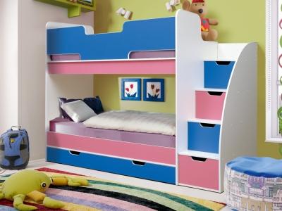 Кровать детская двухъярусная Юниор-9